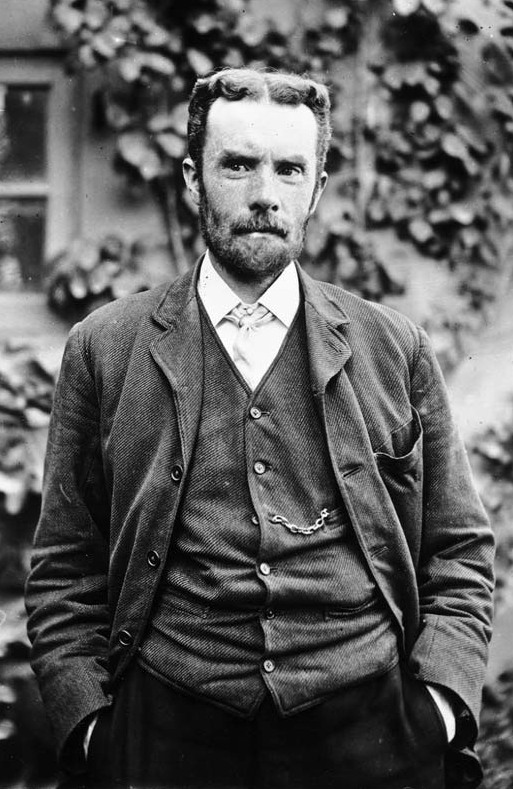 Oliver Heaviside invented the coaxial cable in 1880 Oheaviside.jpg