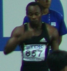 Olusoji Fasuba Nigerian sprinter