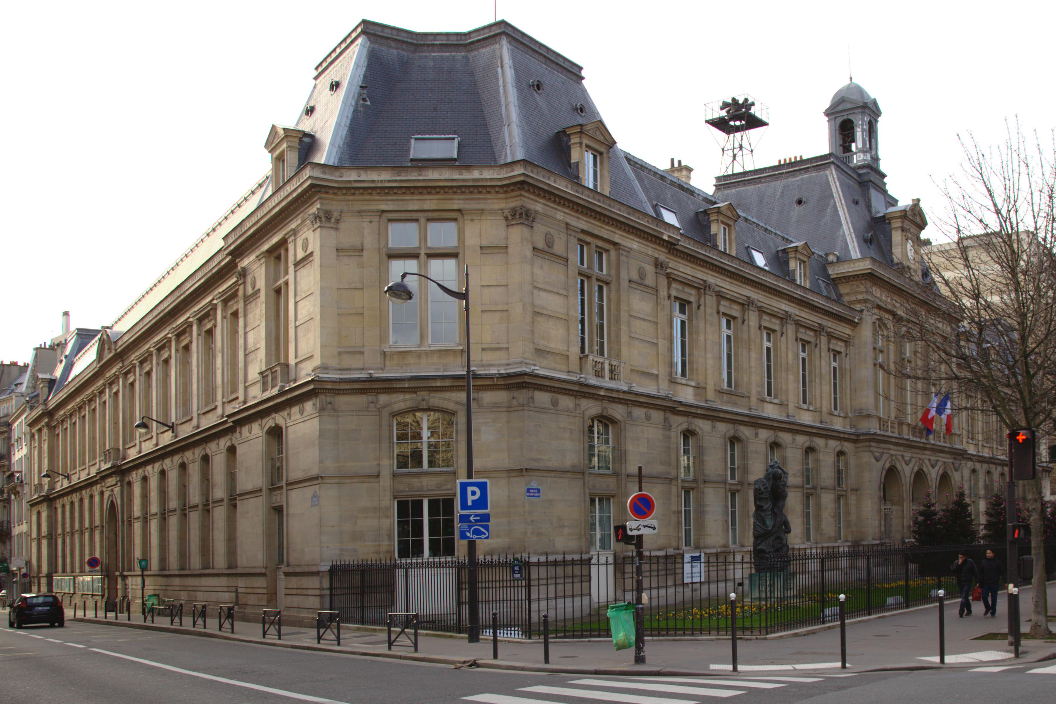 Mairie du 16e arrondissement de paris wikiwand - Location meuble paris 16e arrondissement ...