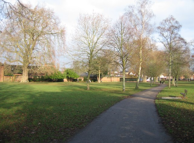 Path through the park - geograph.org.uk - 649640