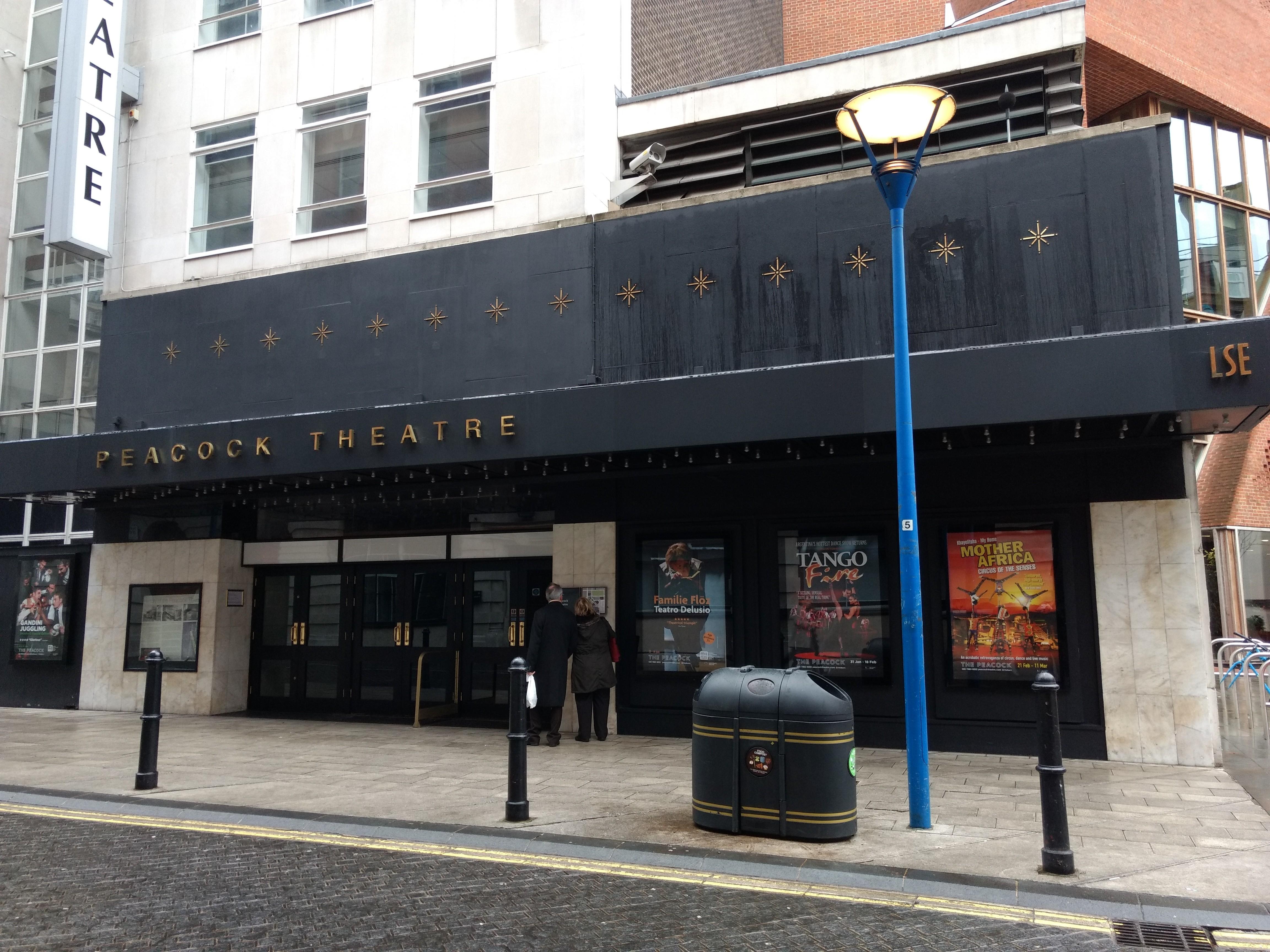 Peacock Theatre Wikipedia