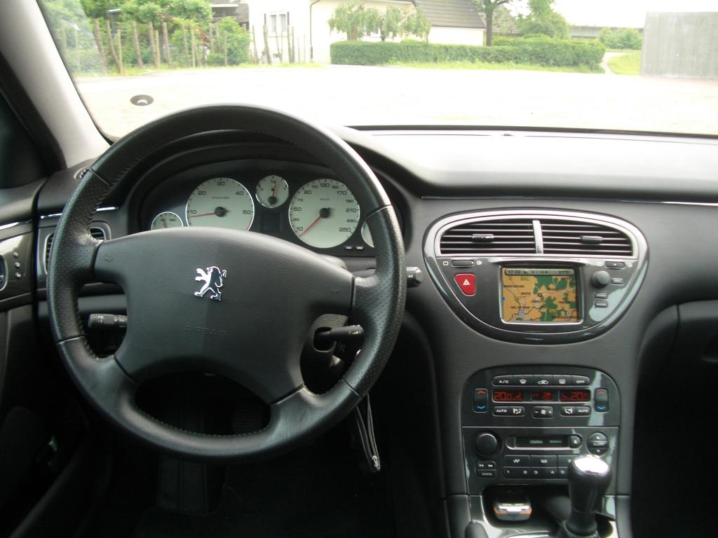 File peugeot607 wikimedia commons for Interieur 407