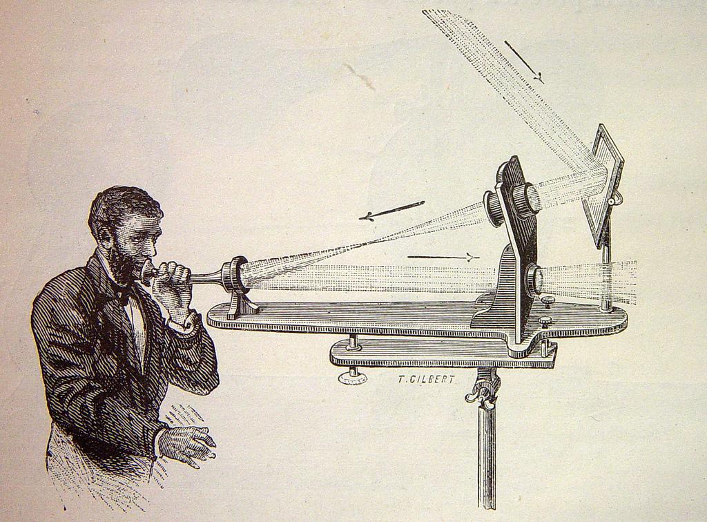 Afbeelding van de Fotofoon (1880)