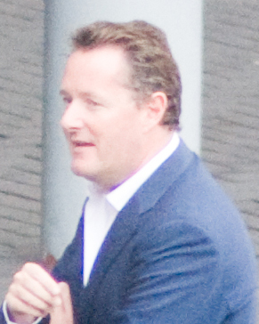 English: Piers Morgan filming Britain's Got Ta...