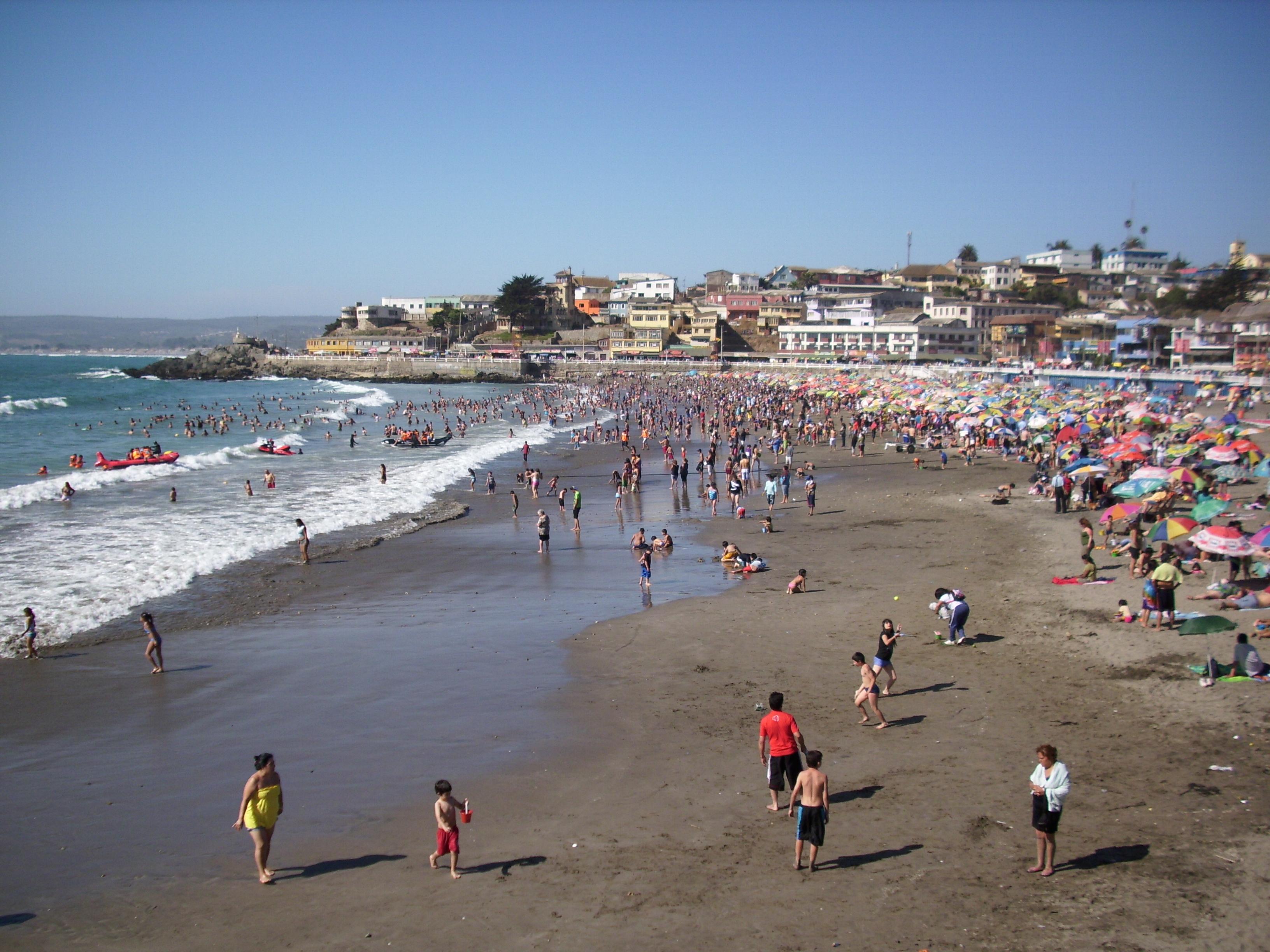 Playa cartagena chile fotos