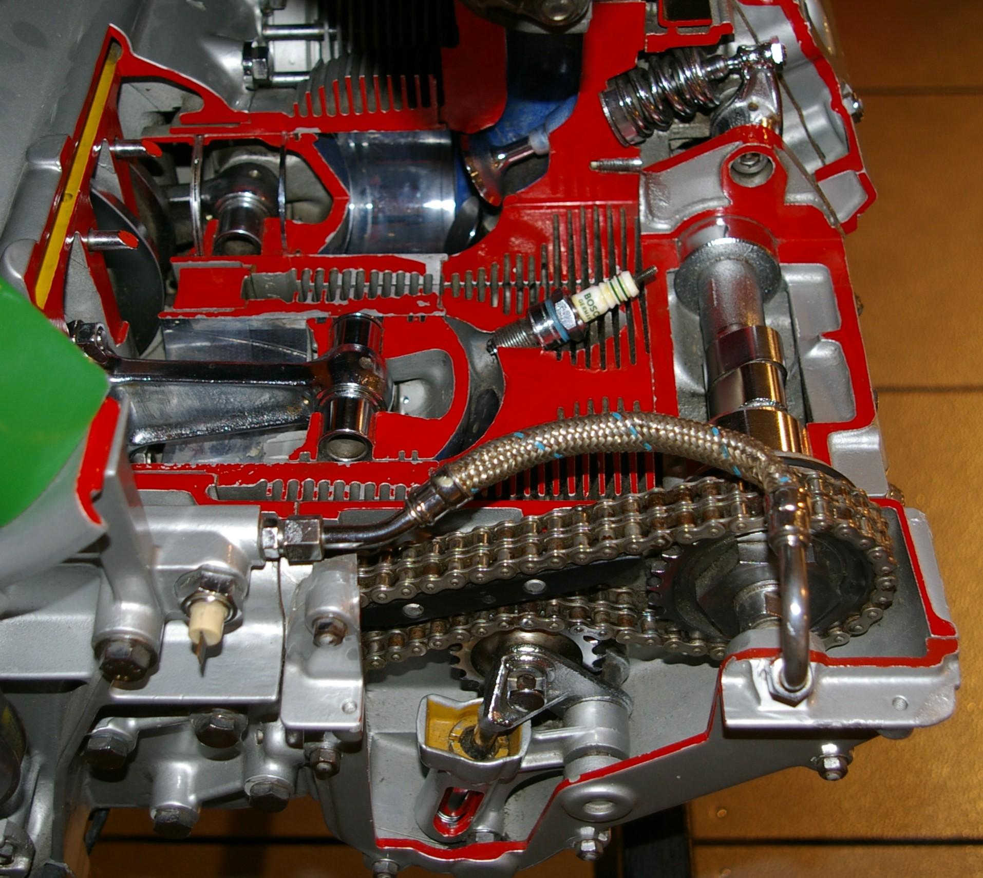 Porsche       Engine    Cutaway  number one wiring    diagram    sources