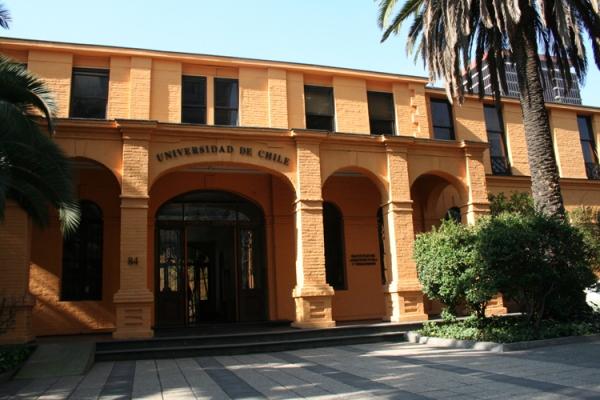 Depiction of Facultad de Arquitectura y Urbanismo de la Universidad de Chile