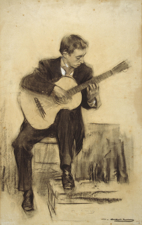Depiction of Miguel Llobet