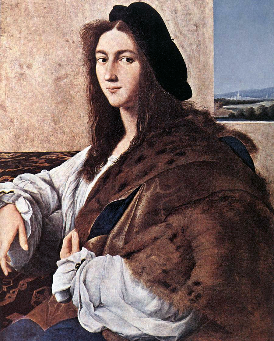 Portrait of a Young Man (Raphael) - Wikipedia