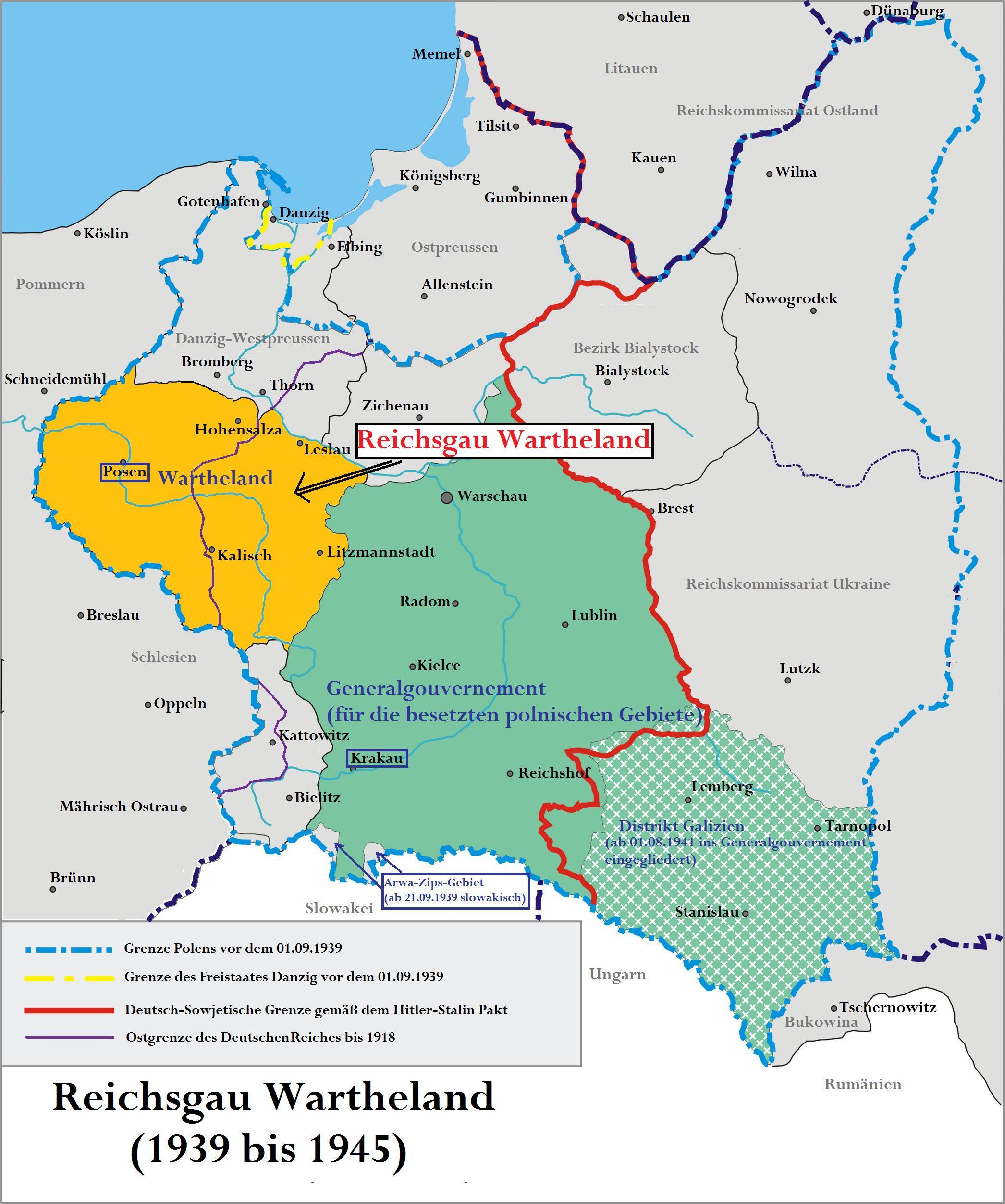 Wartheland Wikipedia