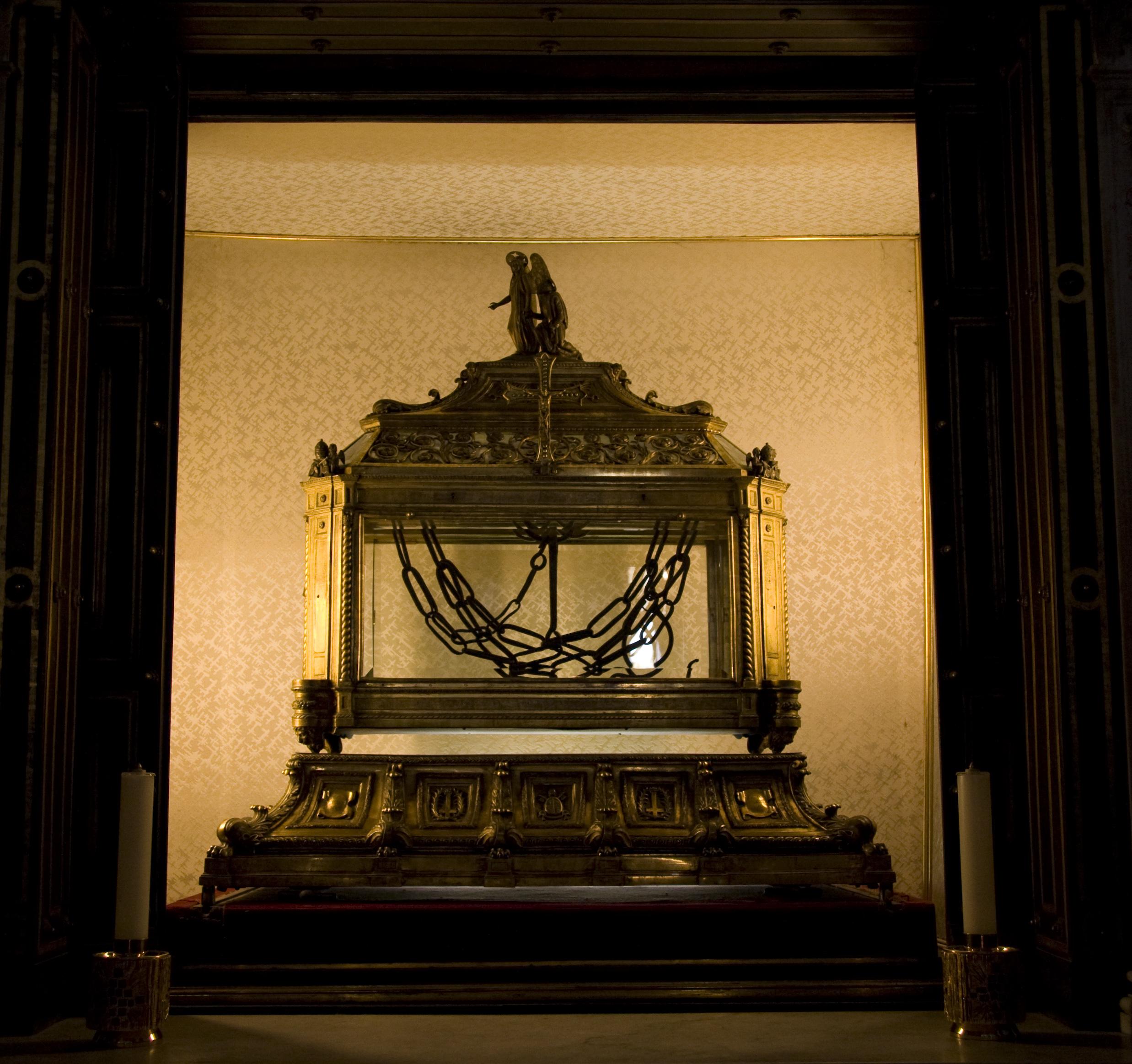 Reliquary San Pietro In Vincoli Rome