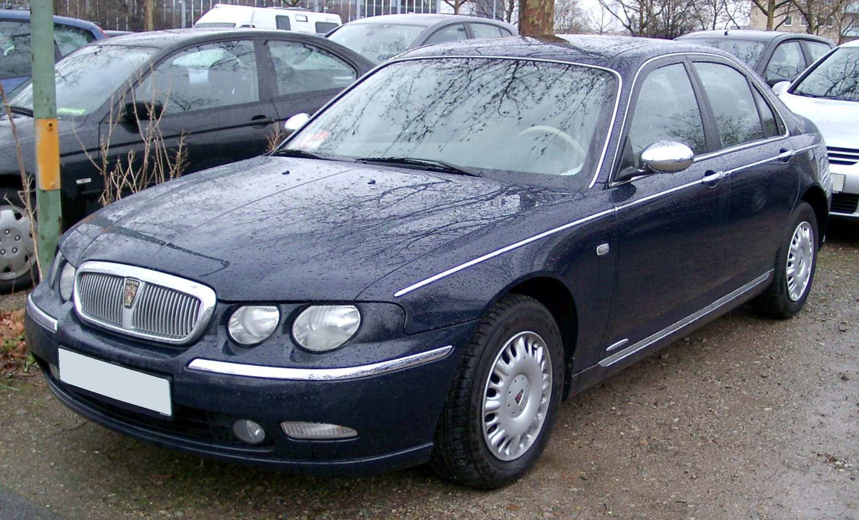 File Rover 75 Front 20080315 Jpg Wikimedia Commons