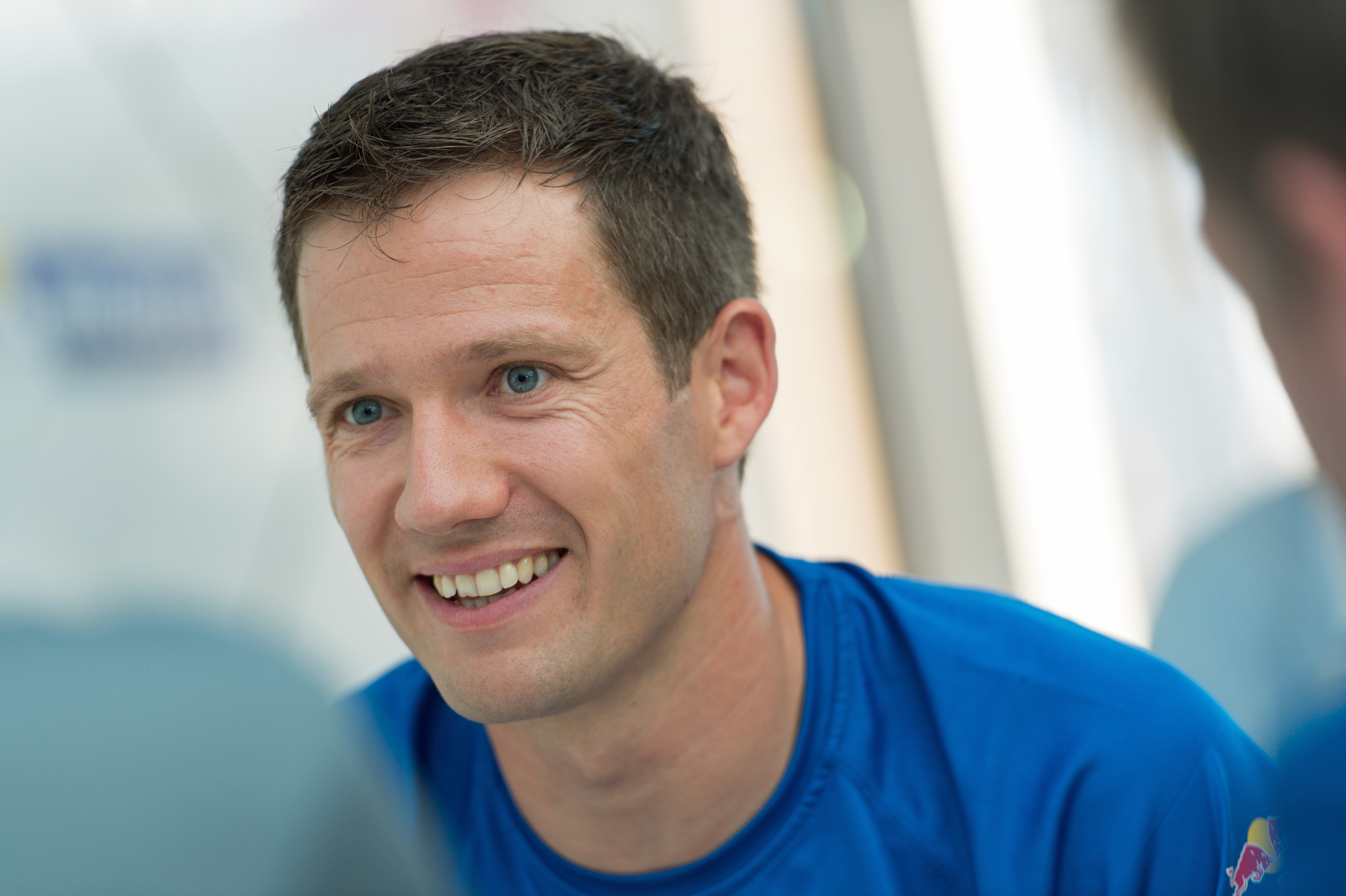 The 34-year old son of father (?) and mother(?) Sébastien Ogier in 2018 photo. Sébastien Ogier earned a  million dollar salary - leaving the net worth at 0.8 million in 2018