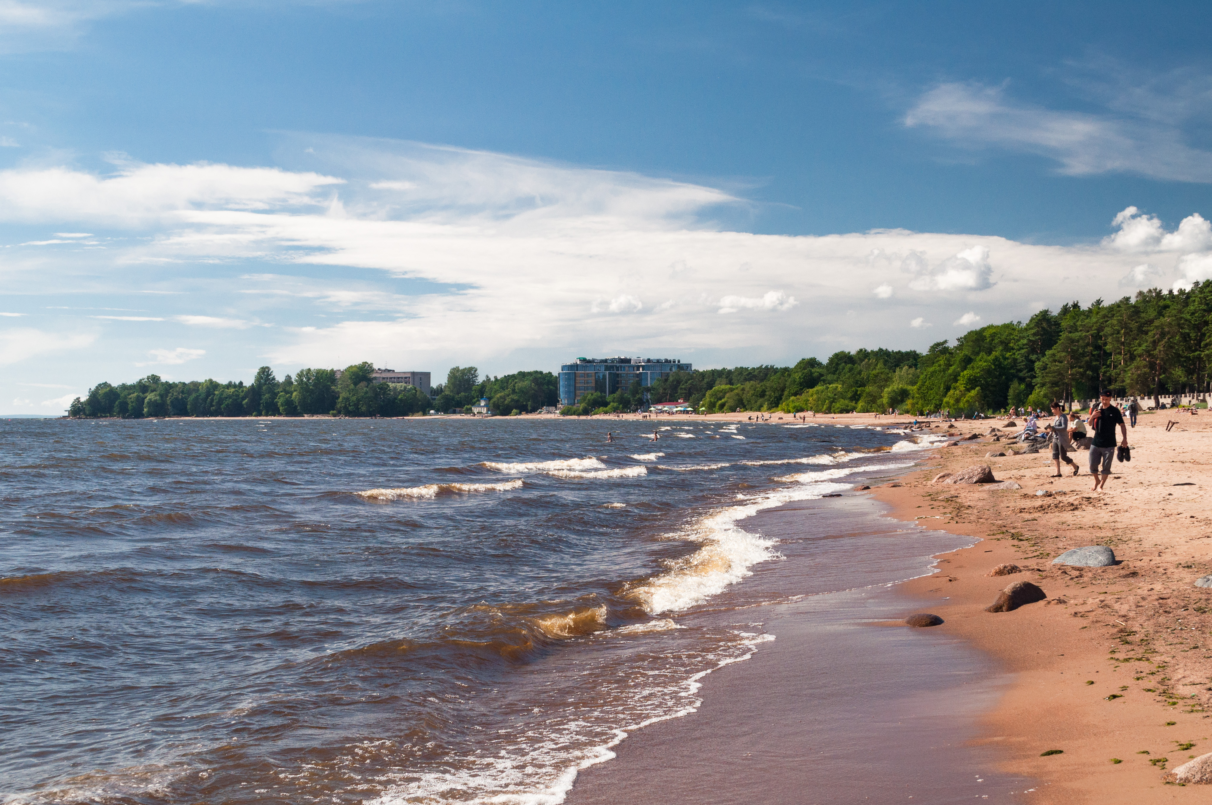 30 photos of the Gulf of Finland at different times of the year. Seascapes near Petersburg