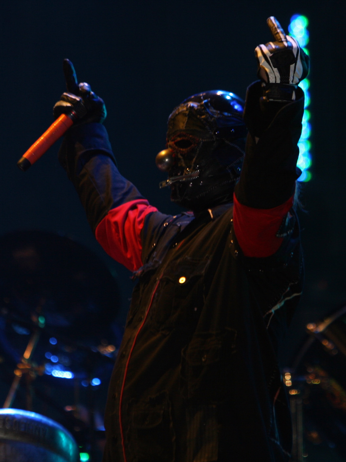 Shawn Crahan Age Shawn Crahan at Mayhem Fest 2