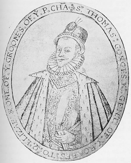 SirThomasGorges Died1610 OfLongfordCastle Wiltshire