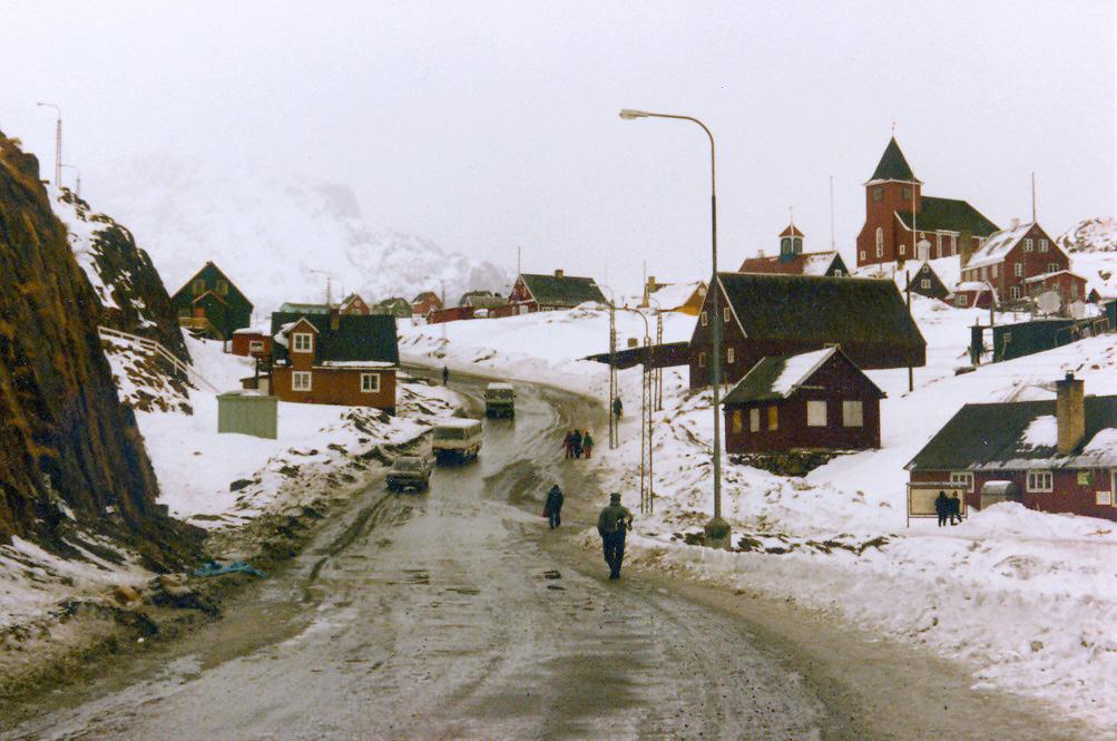 عکس 32 سال پیش از گرینلند یعنی سال 1980