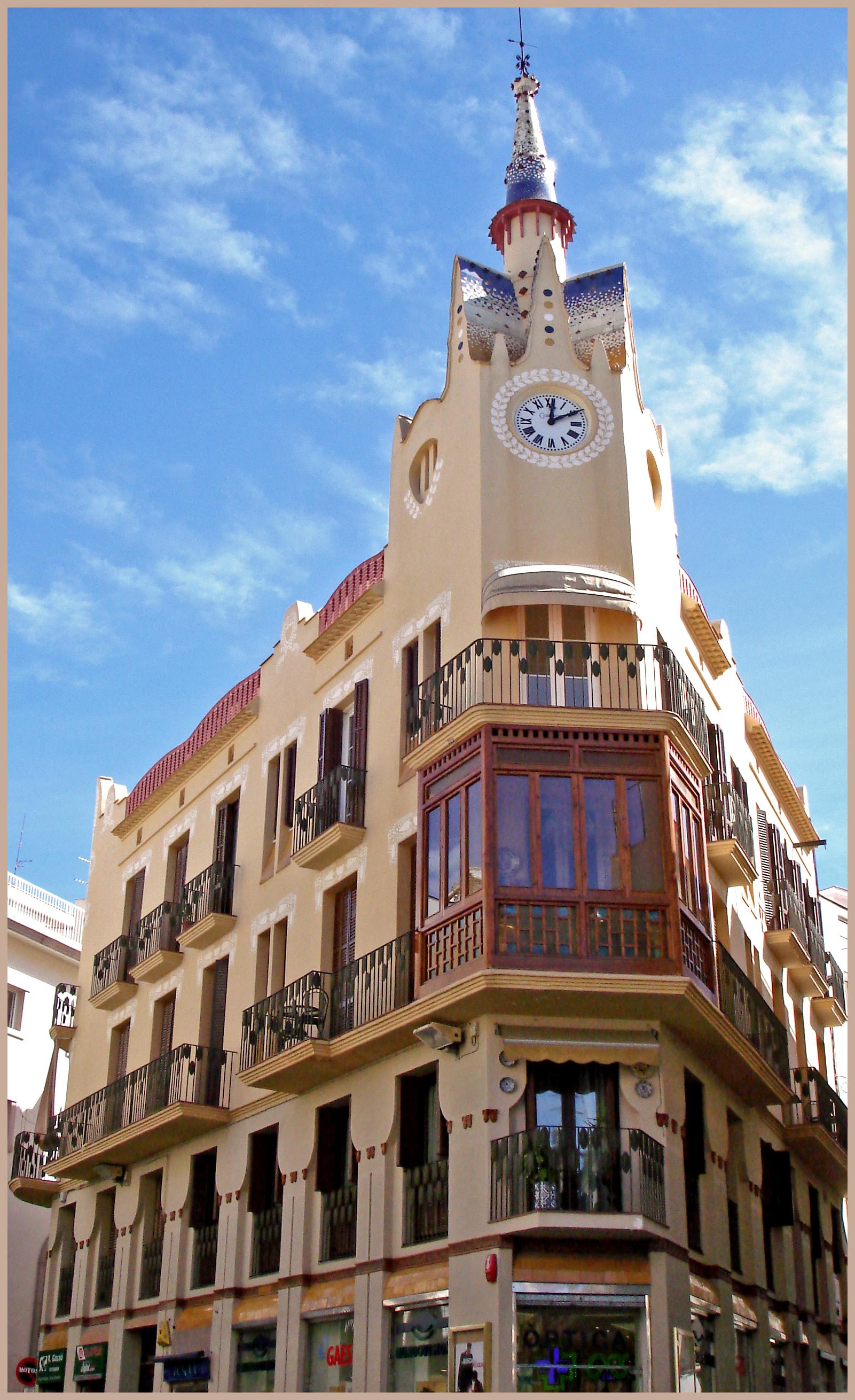 Hotel Nord Otaru Filesitges Casa Bartomeu Carbonell 2jpg Wikimedia Commons
