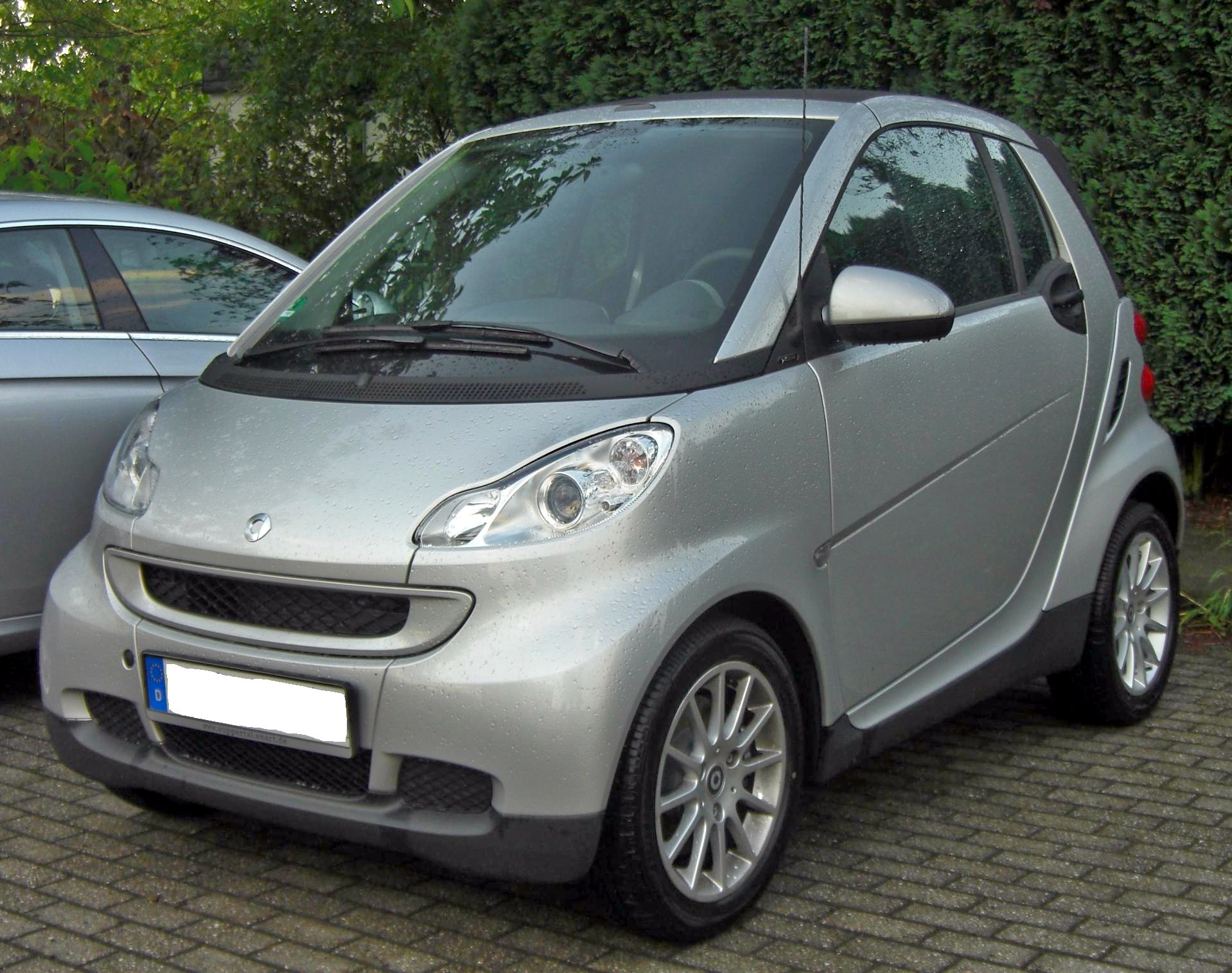 file smart fortwo cabrio 2nd gen wikimedia commons. Black Bedroom Furniture Sets. Home Design Ideas