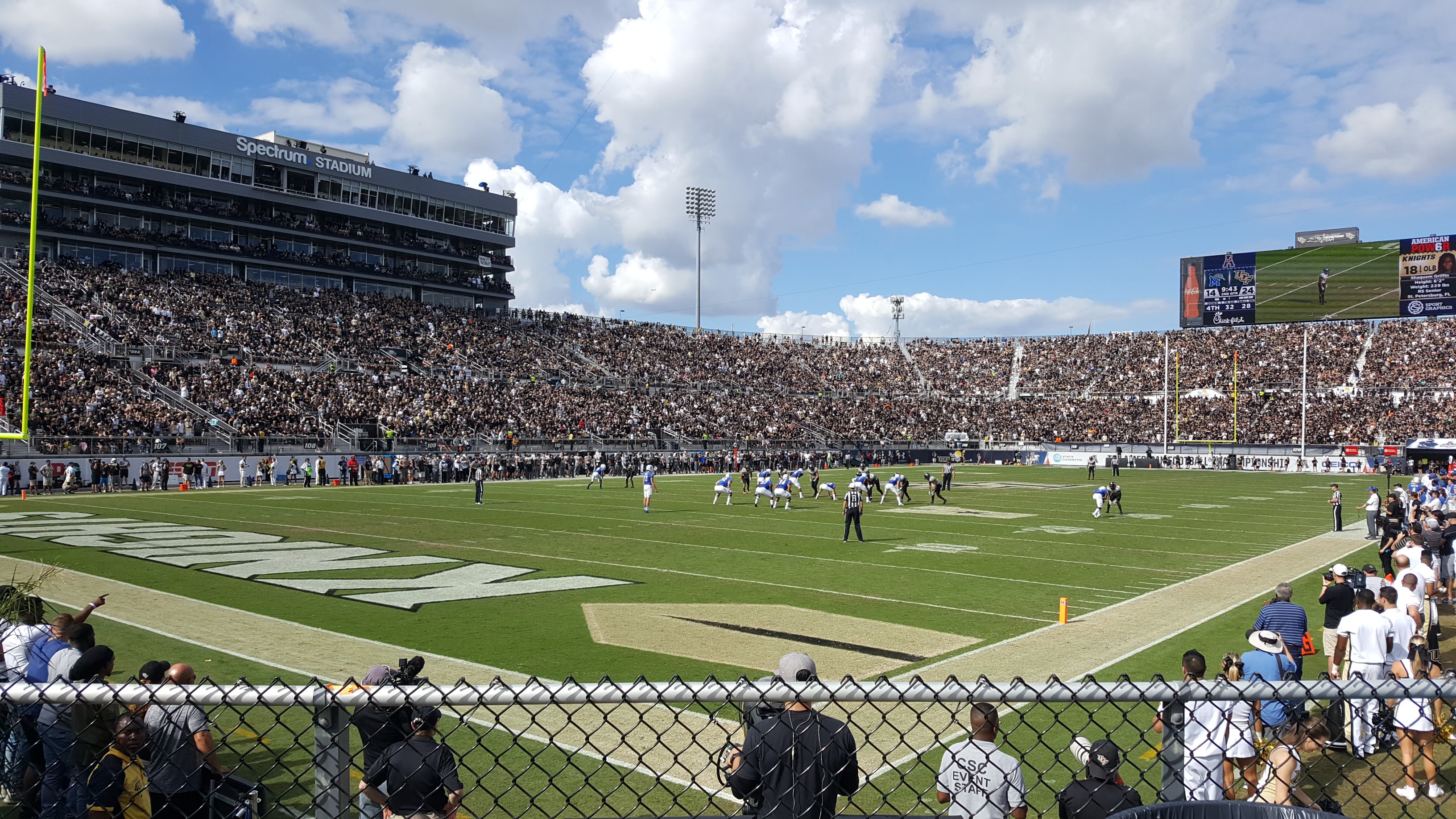 Spectrum Stadium 2017 AAC Championship Game
