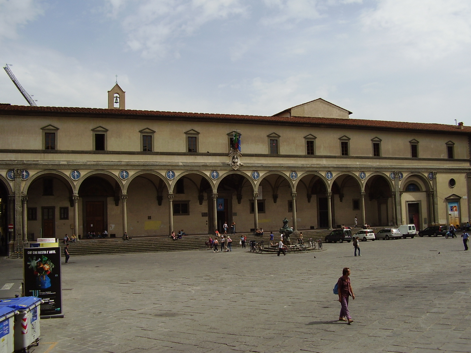 filippo brunelleschi foundling hospital
