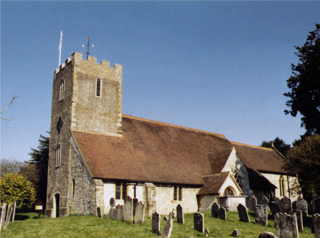 St Mary the Virgin, Buriton - geograph.org.uk - 1493240