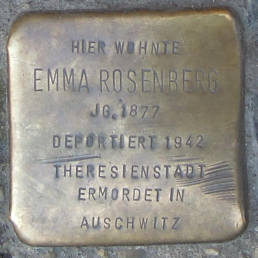 Stolpersteine in Soest Bruederstraße 32 Emma Rosenberg