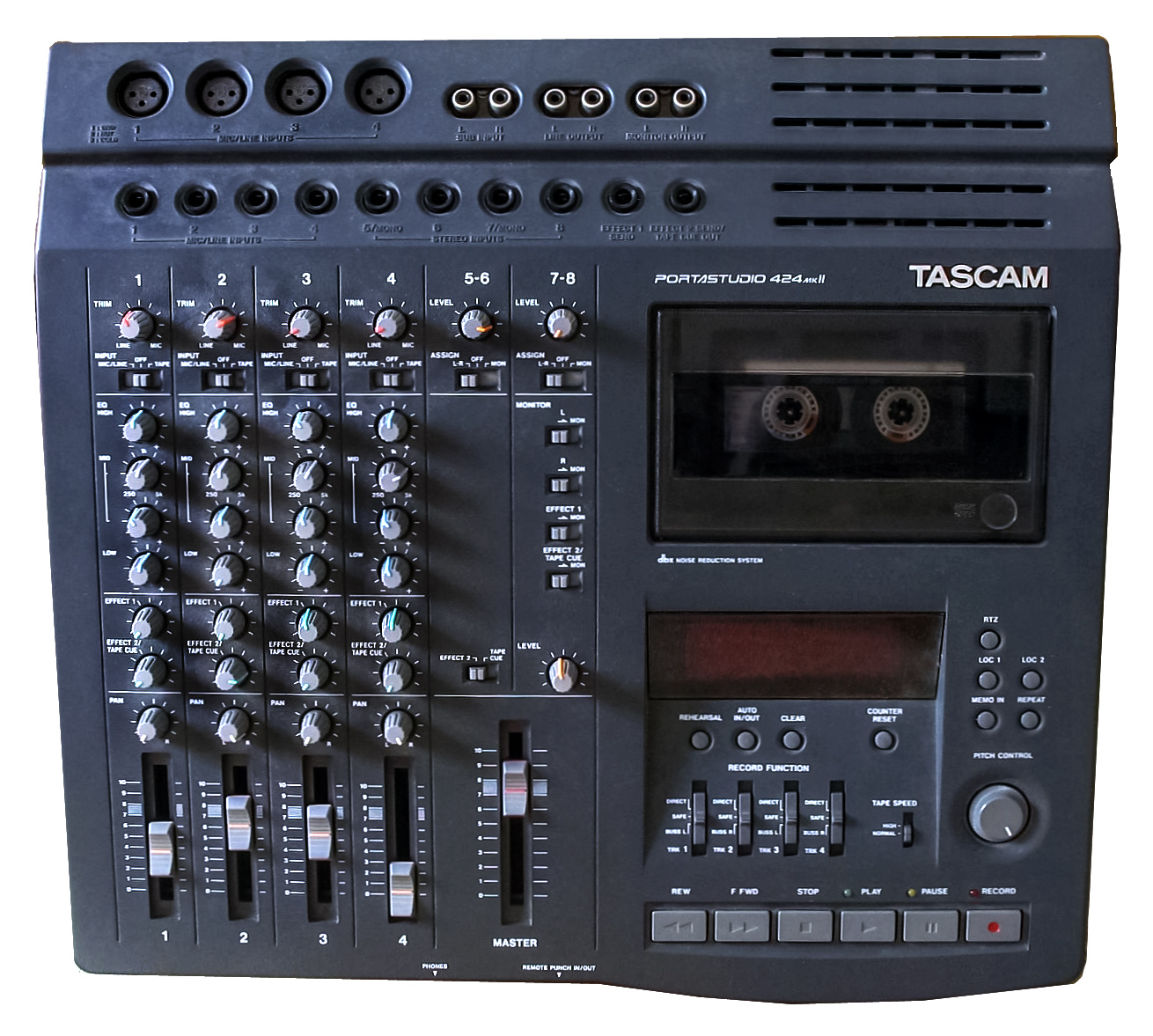 tascam tmd8000 emulate pro tools