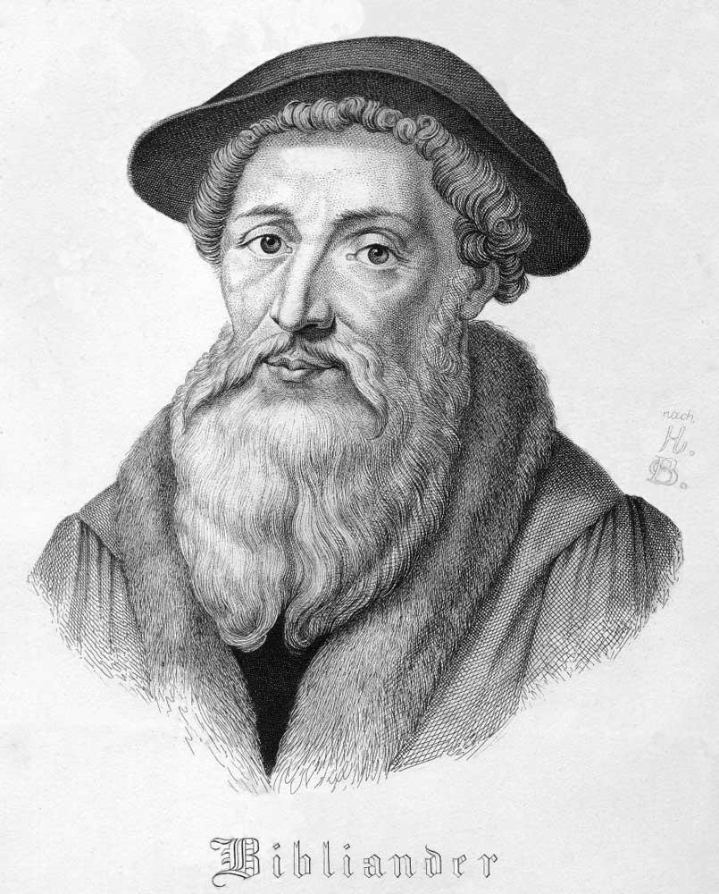 Depiction of Teodoro Bibliander