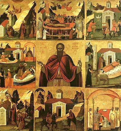 Αποτέλεσμα εικόνας για Βίος Ὁσίου Θεοδοσίου τοῦ κοινοβιάρχου