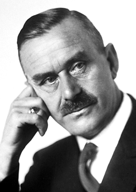 English: Thomas Mann, Nobel laureate in Litera...
