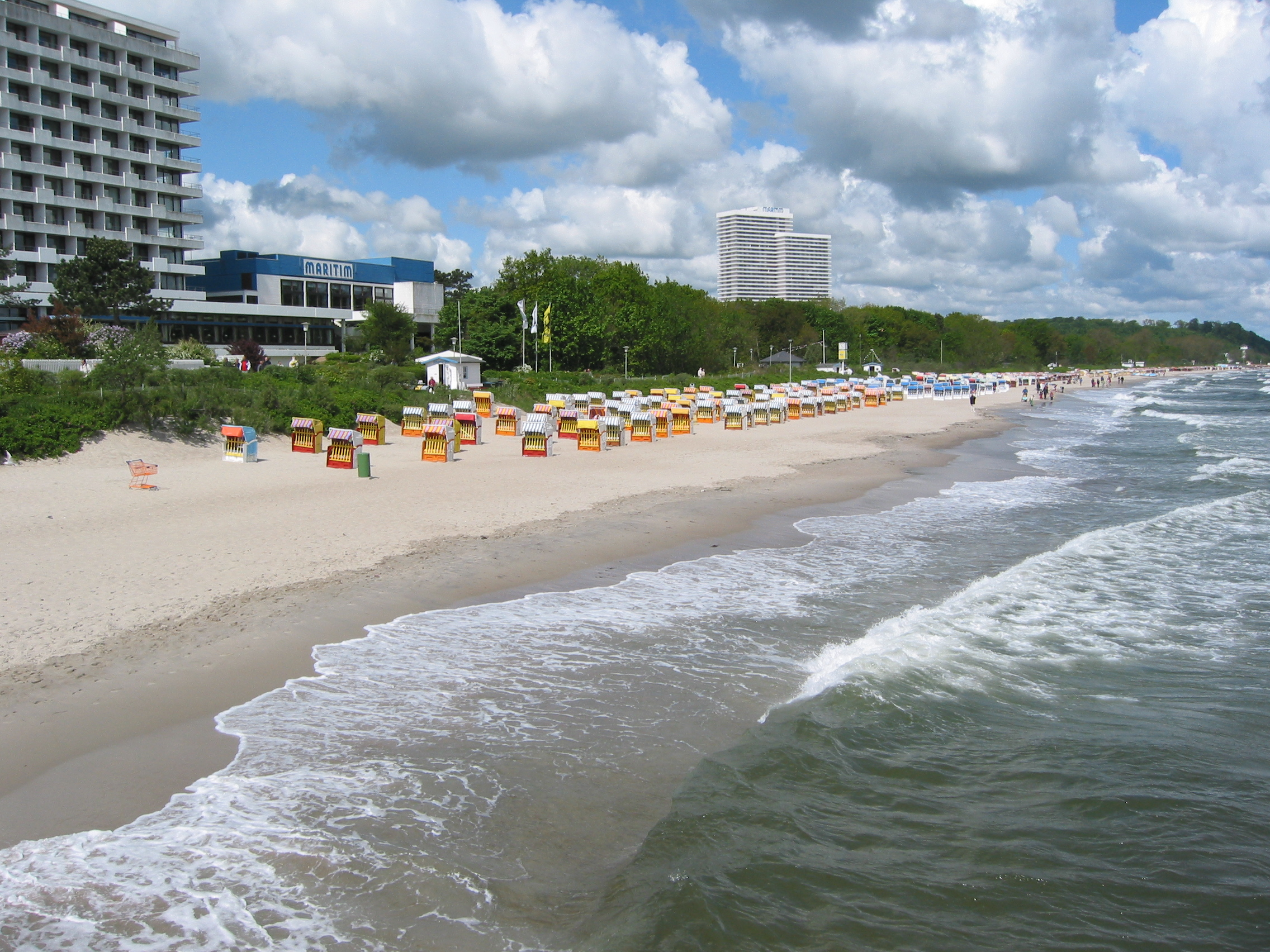 """Timmendorfer Strand Germany  City new picture : ... STRAND"""" or The German Beach – Timmendorfer Strand – Germany"""