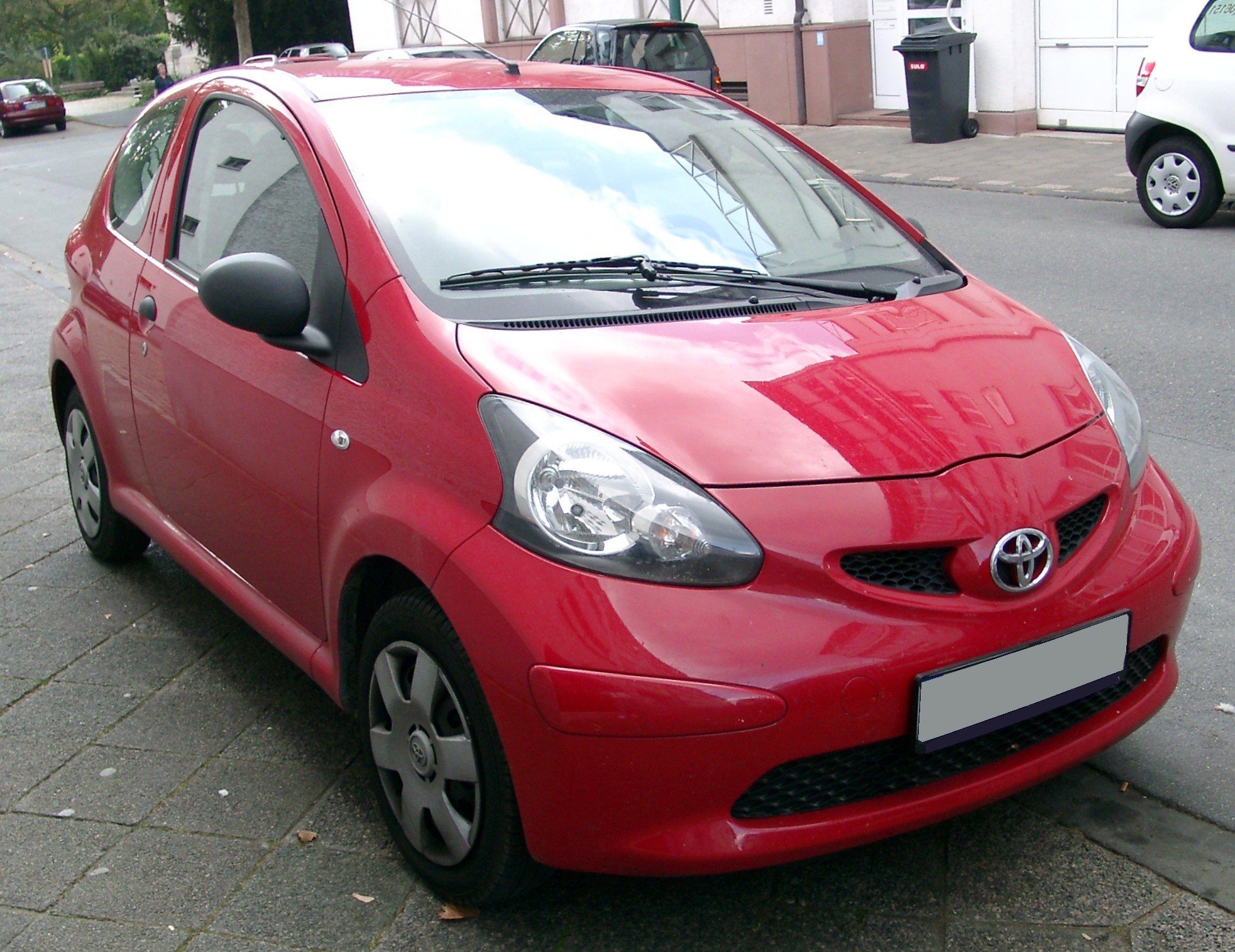 File Toyota Aygo Front 20070924 Jpg Wikimedia Commons
