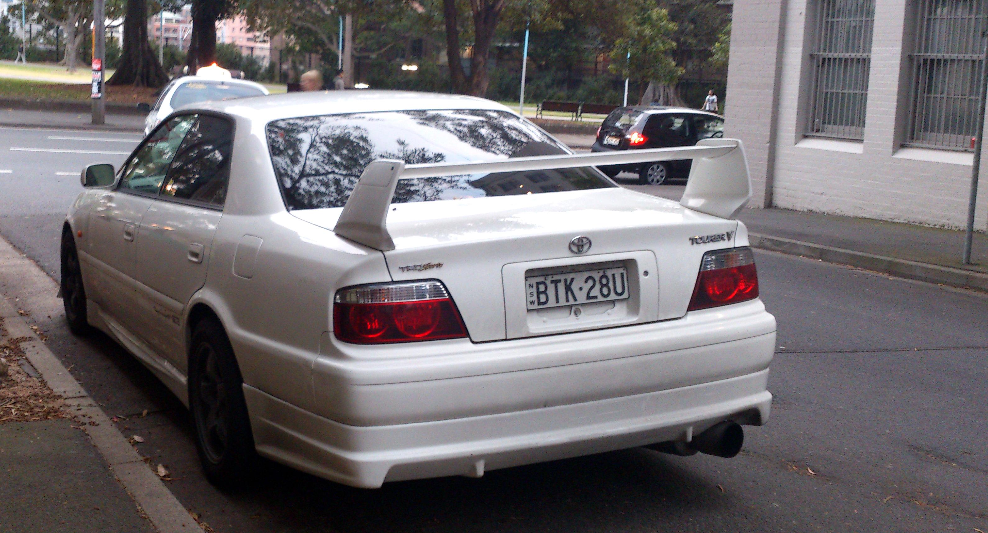 File Toyota Chaser Tourer V 2 Jpg Wikimedia Commons