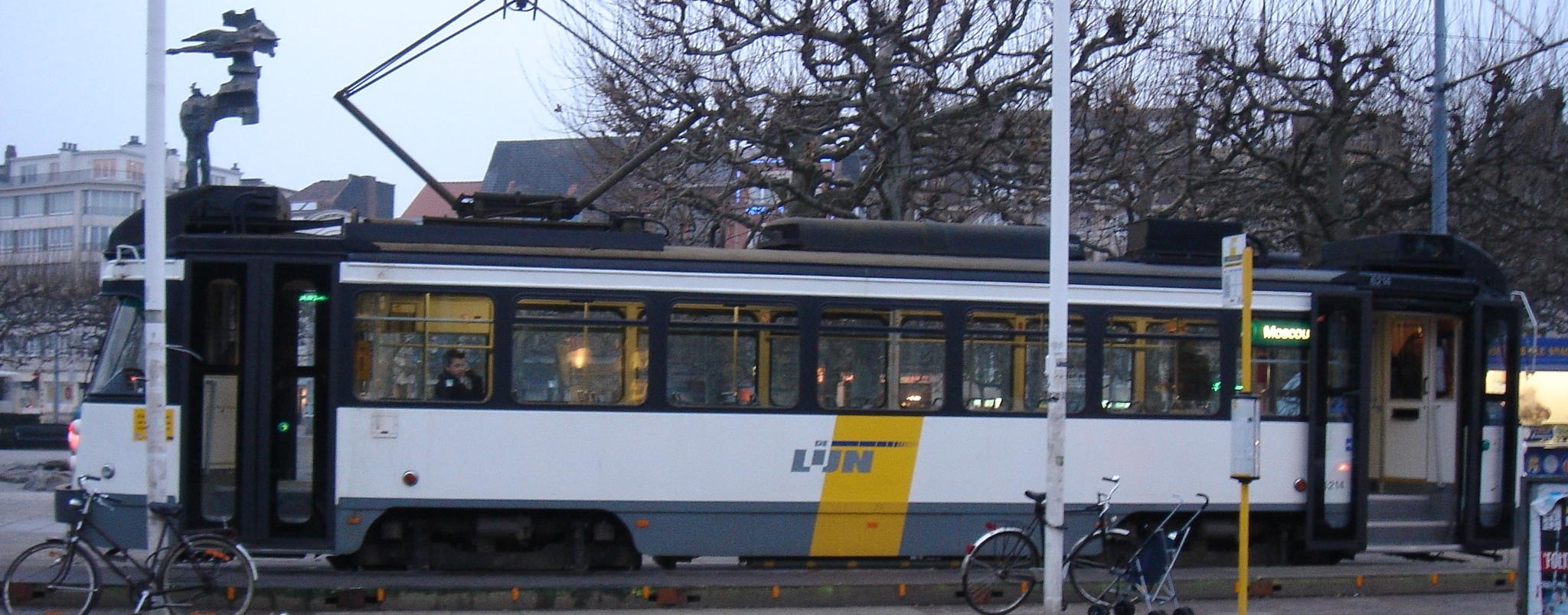 de lijn tram