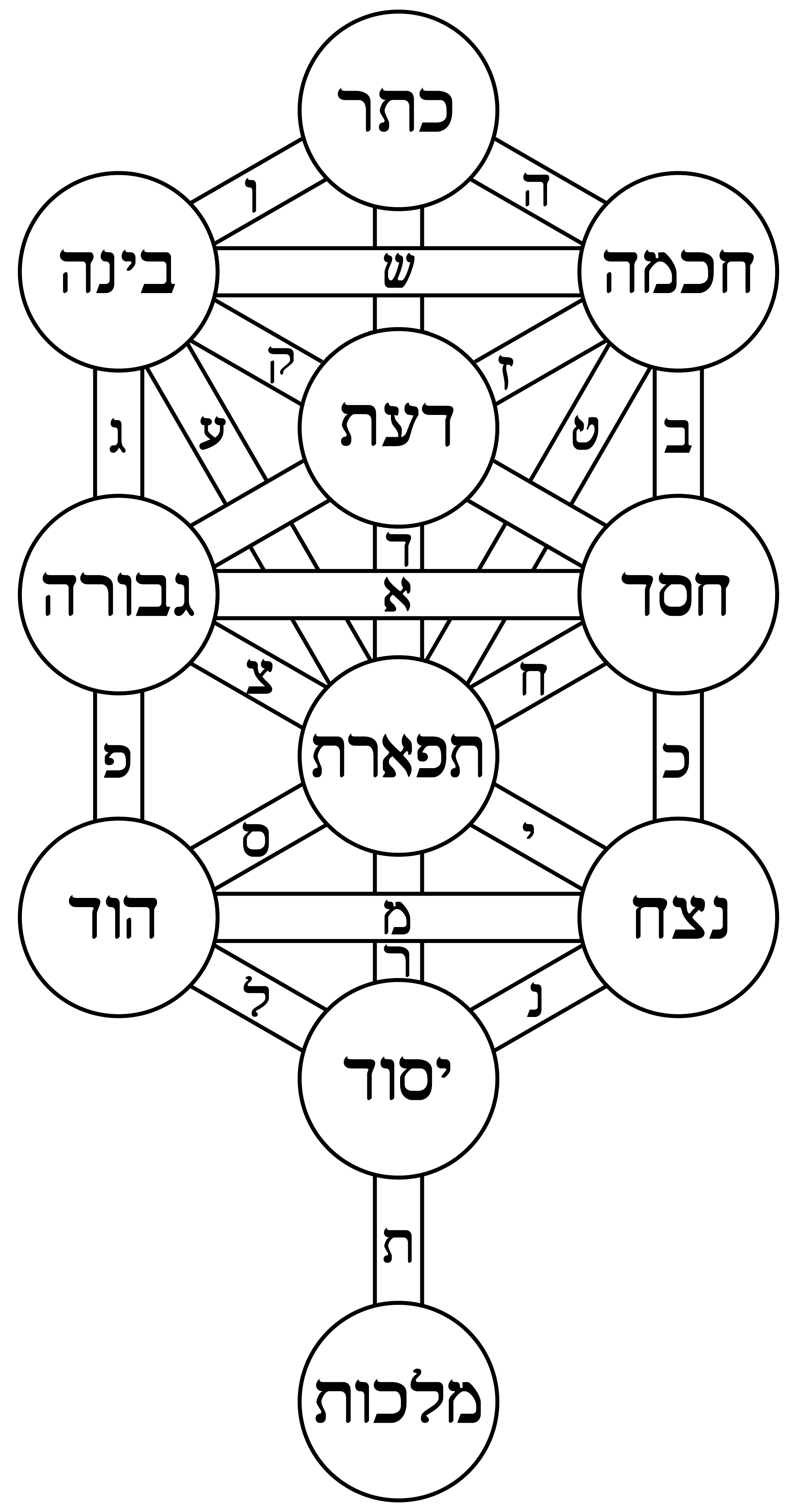 File Tree Of Life Bahir Hebrew Png Wikimedia Commons Kabbalah tree of life, astrology, chakras, numerology,. https commons wikimedia org wiki file tree of life bahir hebrew png
