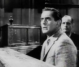 Tyrone Power in Witness for the Prosecution