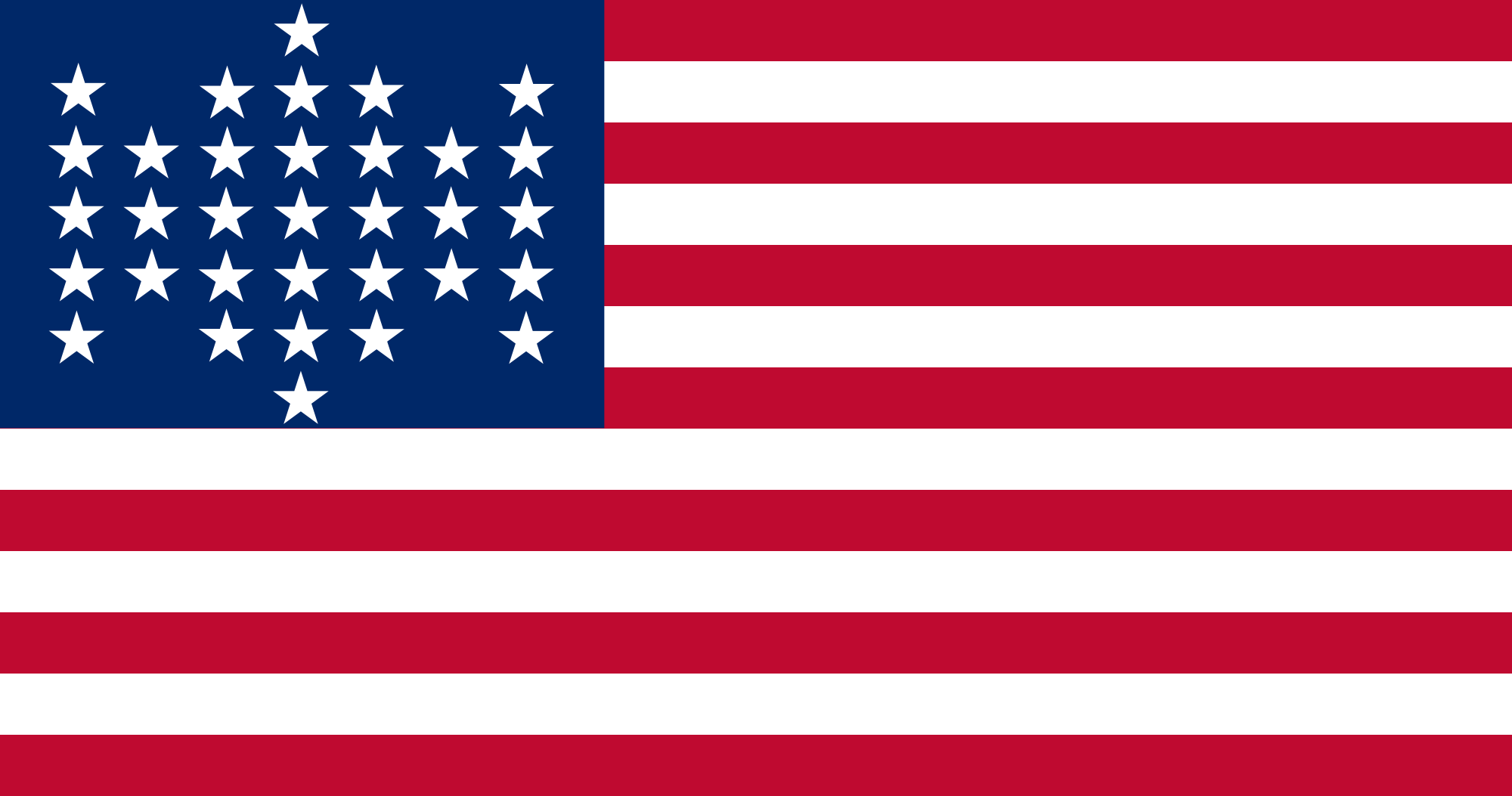 What does the american flag look like