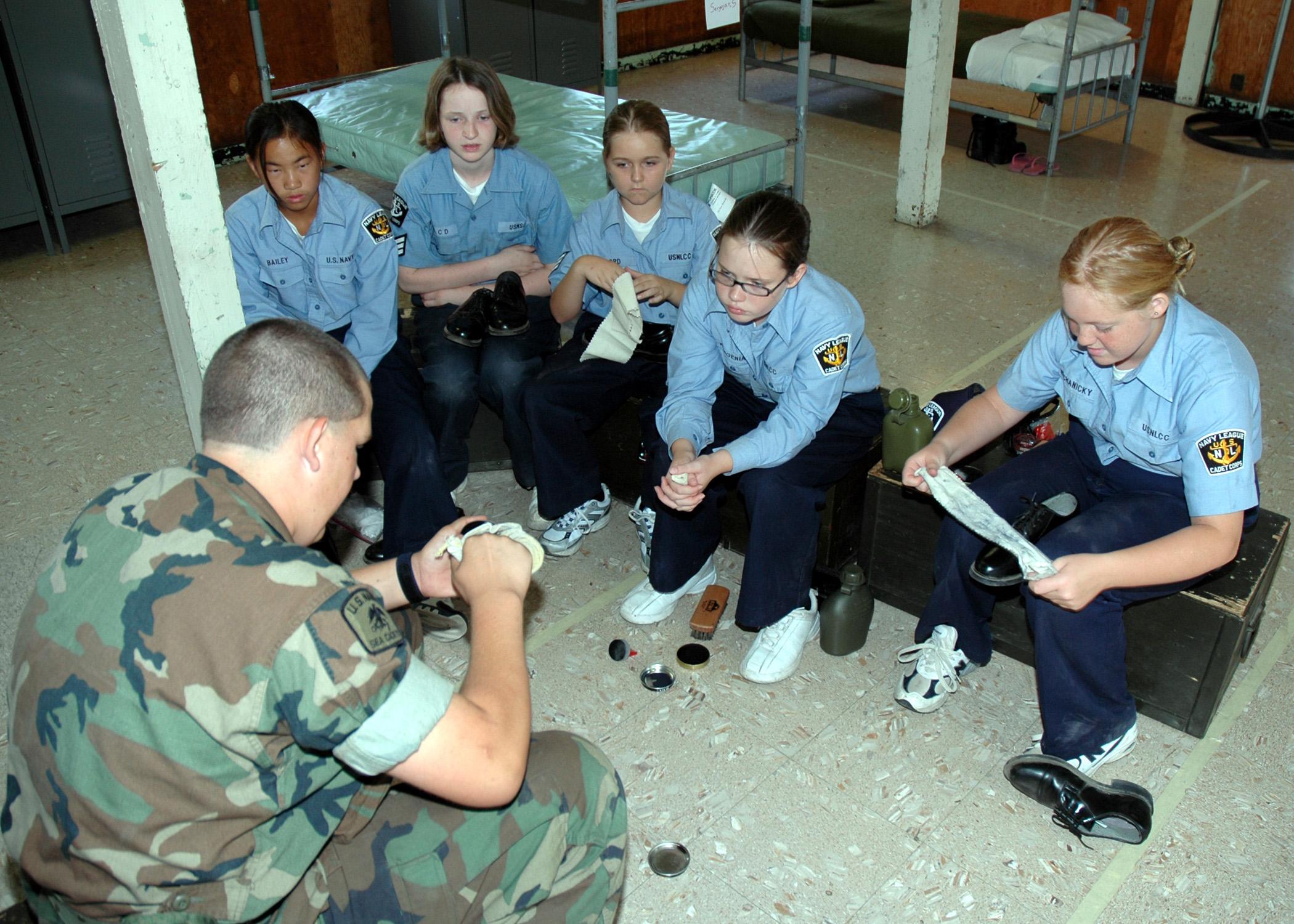 Navy basic training