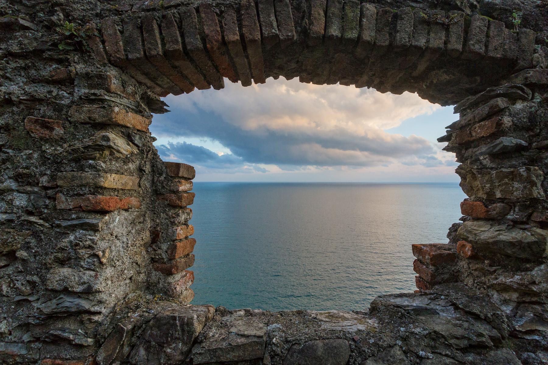 El mar en Cinque Terre
