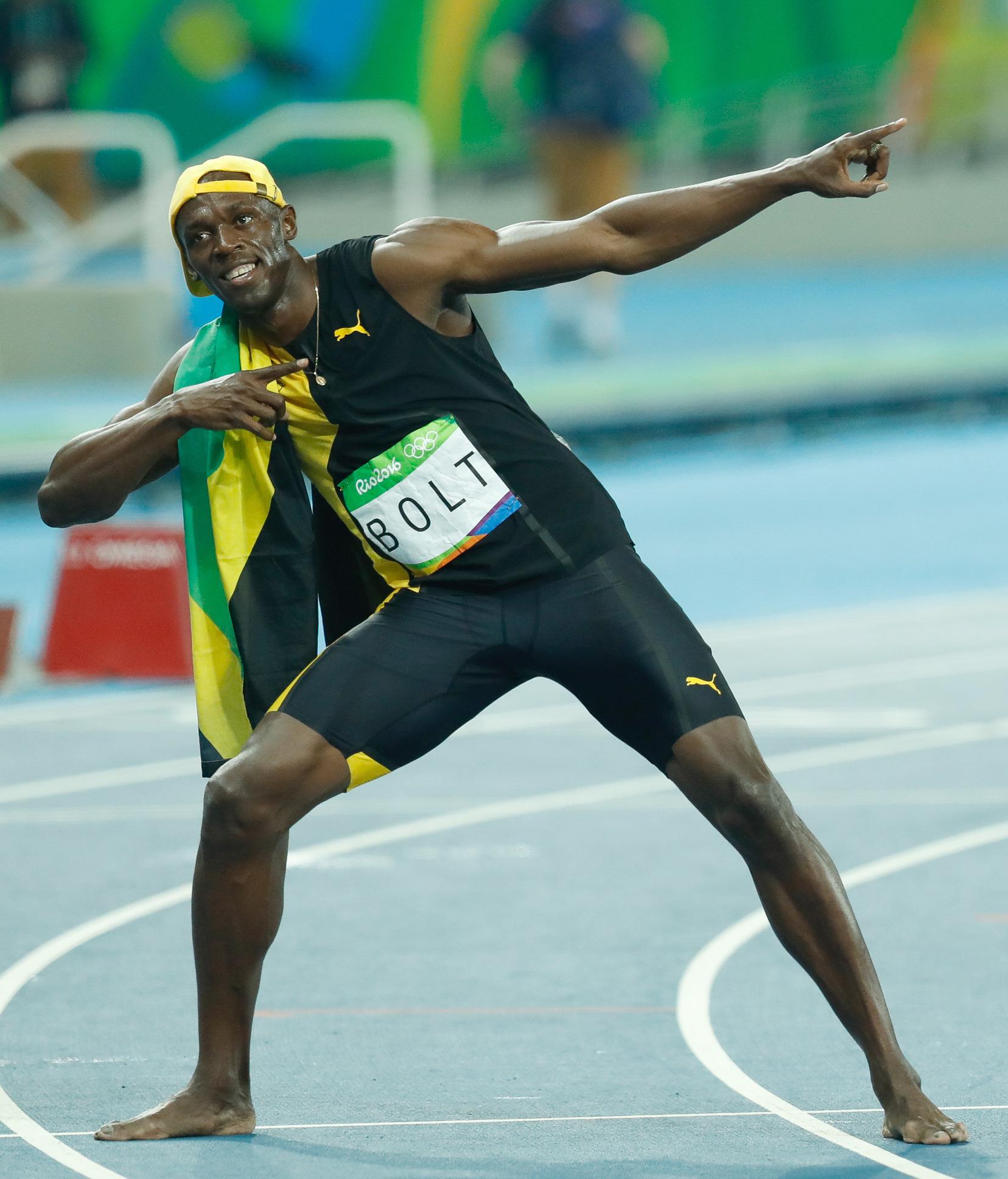 Bolt 100m Rio