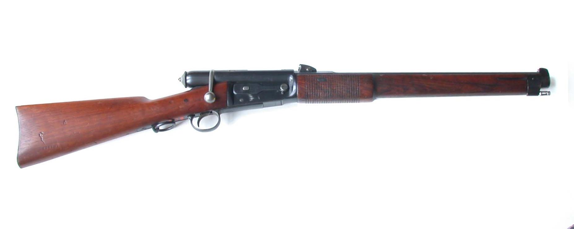 Swiss Rifle With A Ring On Firing Pin Schmidt Reben