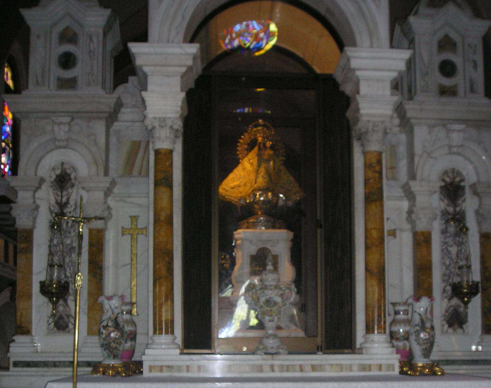 Depiction of Virgen de la Caridad del Cobre