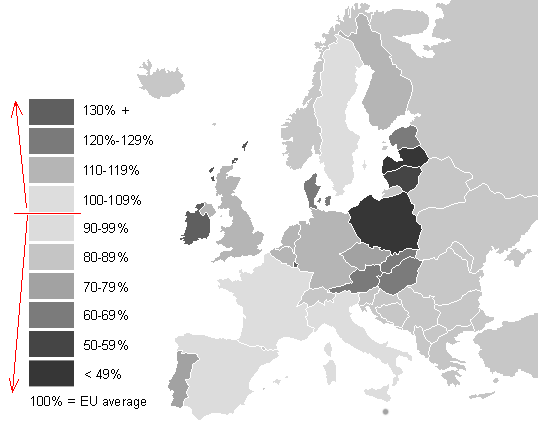 Europe Map Printable Black White