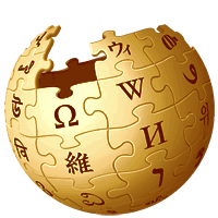 File Wikipedia Logo 3d Gold Png Wikimedia Commons
