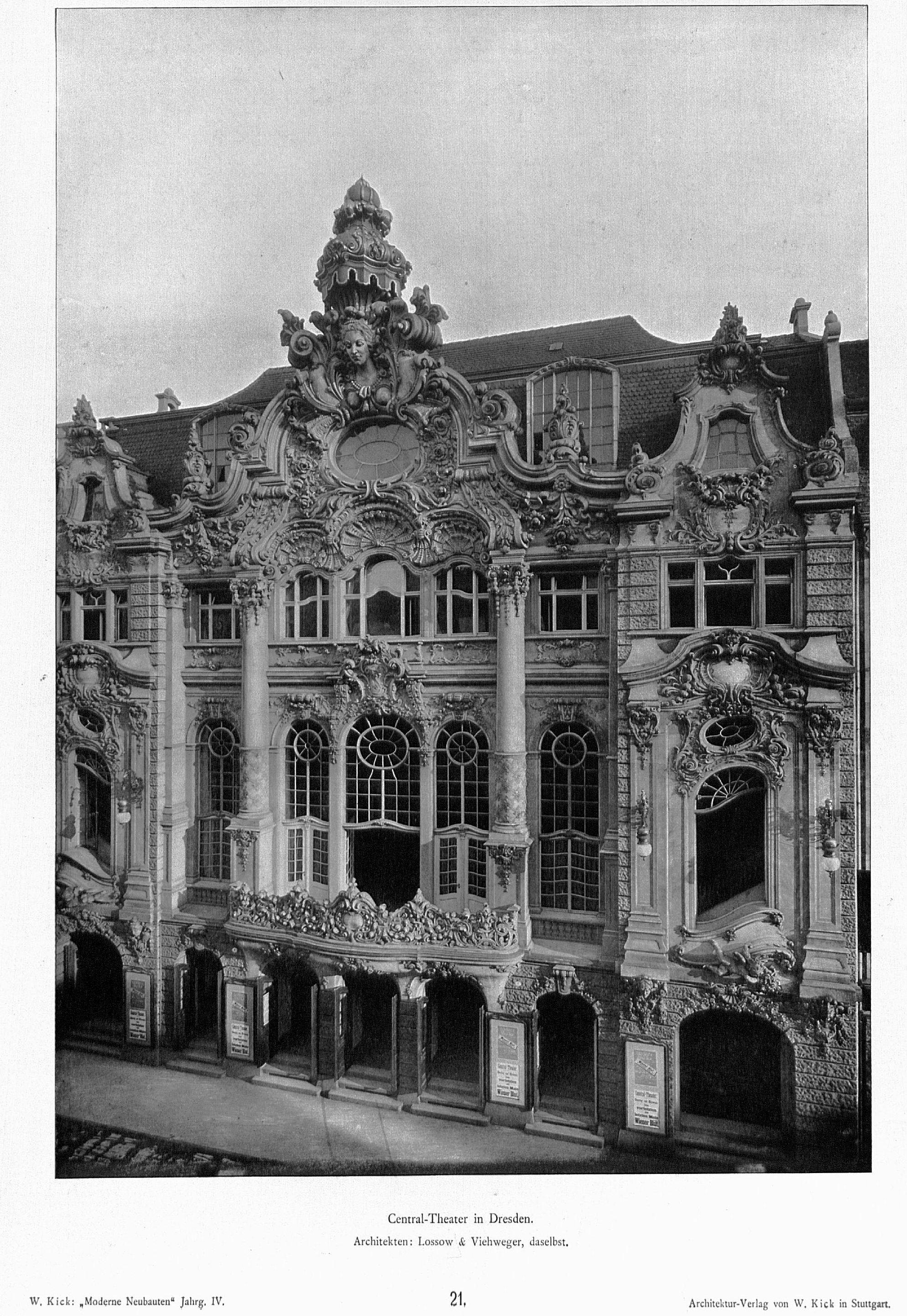 Architekten Dresden file zentral theater dresden architekten lossow viehweger jpg