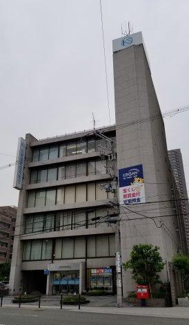 近畿産業信用組合の本部ビル