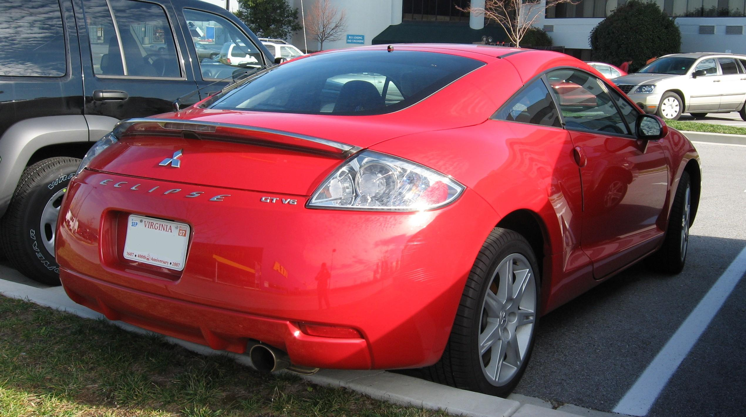 File 06 Mitsubishi Eclipse Rear Jpg Wikimedia Commons