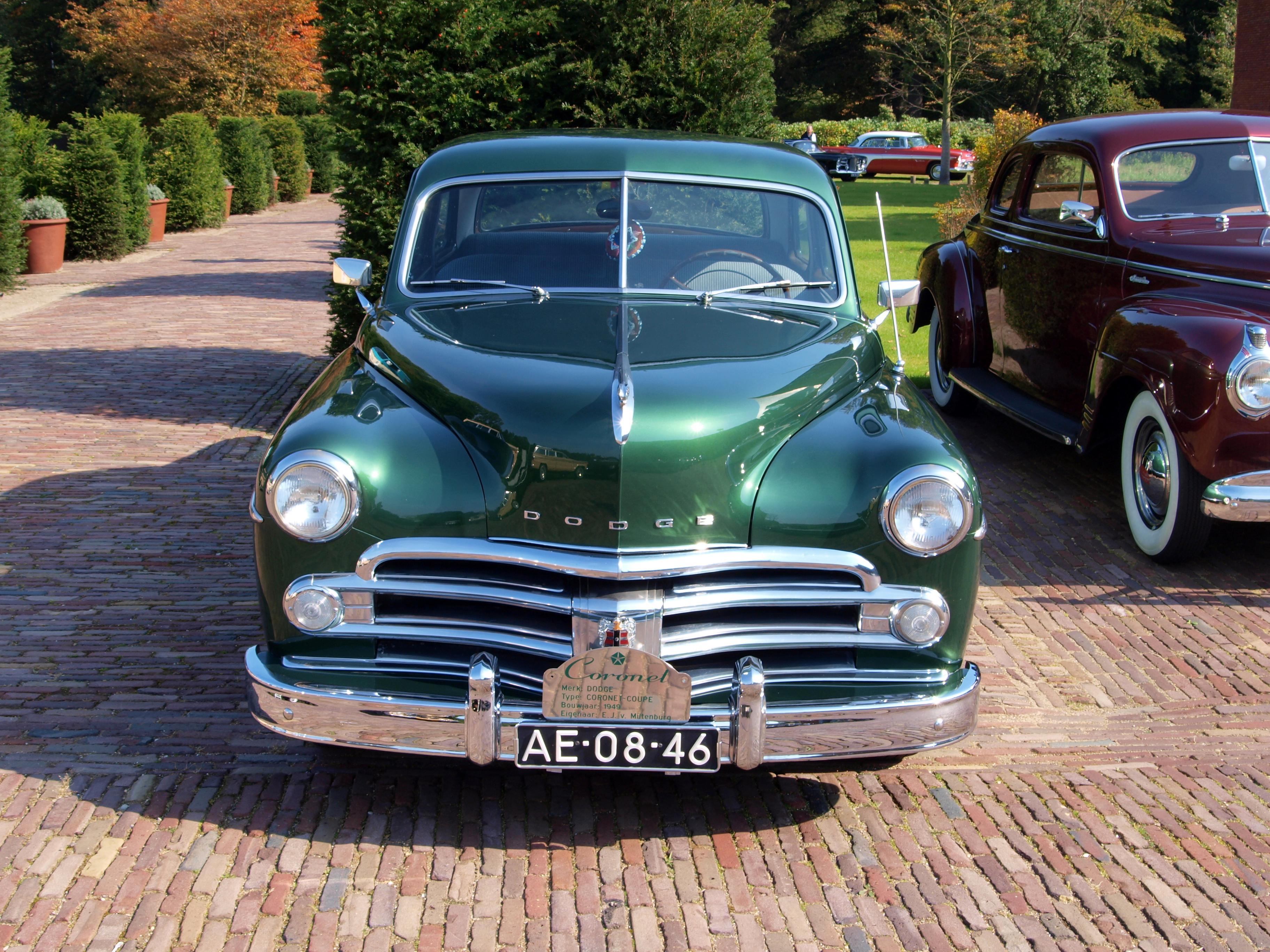 File:1950 Dodge Coronet photo-3.JPG - Wikimedia Commons