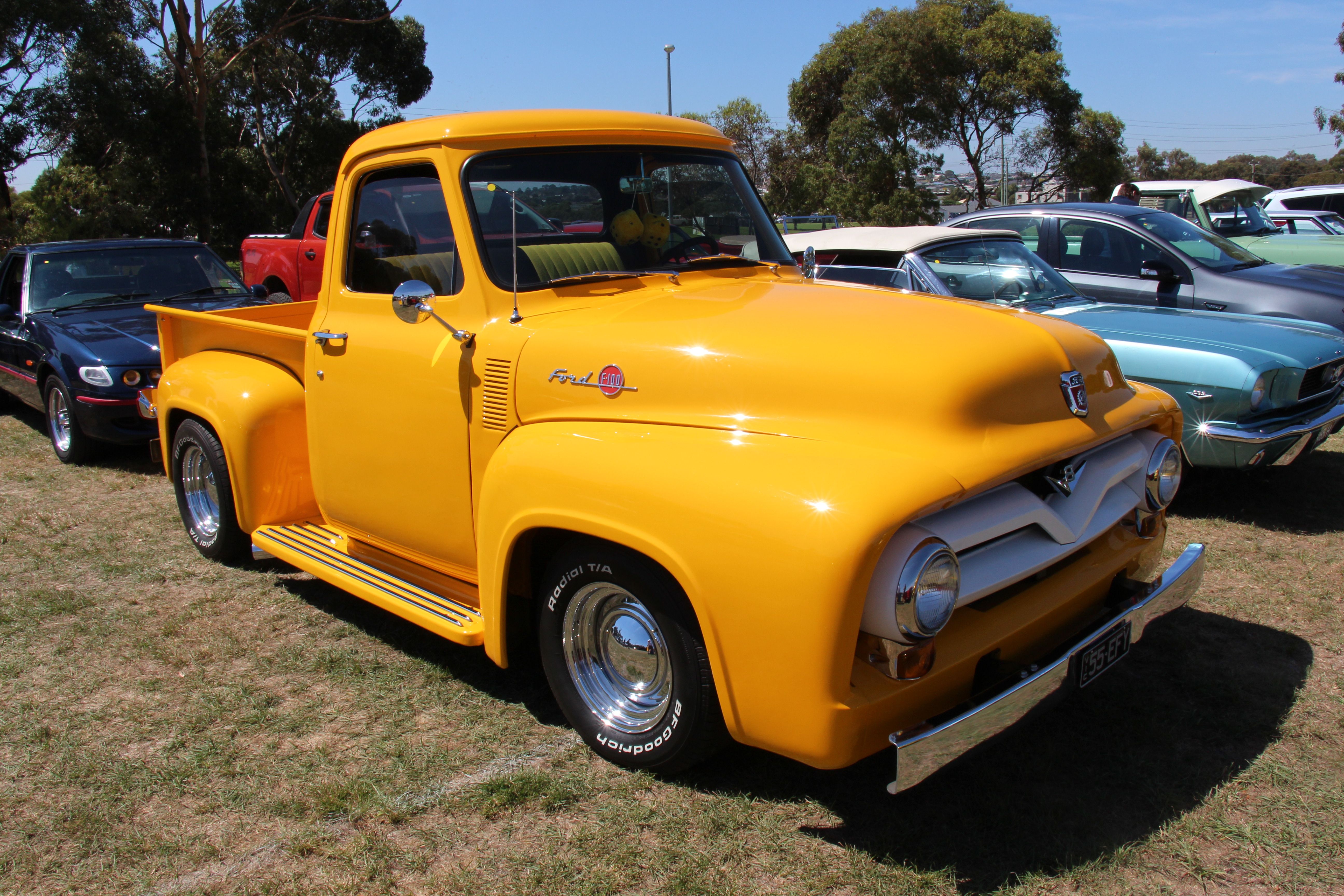 1955 Ford F100 Pickup Truck Youtube File Wikimedia Commons 5184x3456